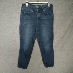 Seven7 Skinny Leg Cropped Jeans  Stretch